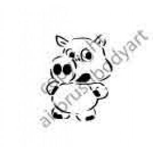 0295 pig reusable stencil